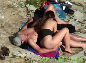 Spycam compilation of beach lovemaking..