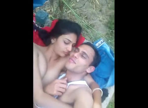 Naked indian duo takes selfie movie in..