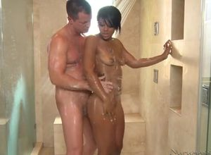 Leilani Leeane sultry nailed in douche