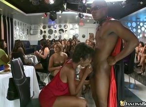 Bachelorette suck off soiree with ebony