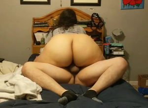 Ample bootie Plumper railing him great