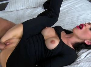 Super-sexy mega-slut caught and gets..