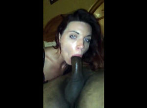 Obscene milky gf deep throats..