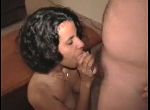 Naughty unexperienced wifey gets face..