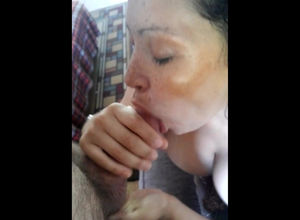 Molten deep suck off from huge-titted..