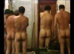 Naked Russian guys doing each other..