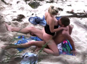 beach nailing filmed by spy webcam