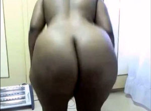 Black web cam Plus-size with a..
