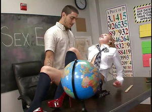 Humping  Tara Lynn Foxx in the classroom
