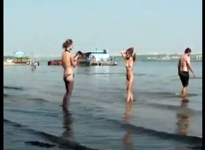 Nude teens on the beach for swingers..